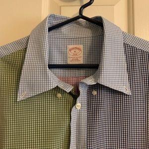 Men's multi check shirt